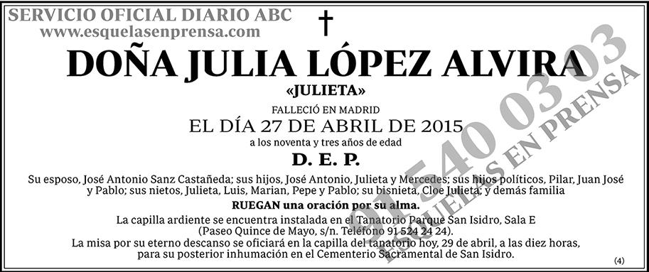 Julia López Alvira